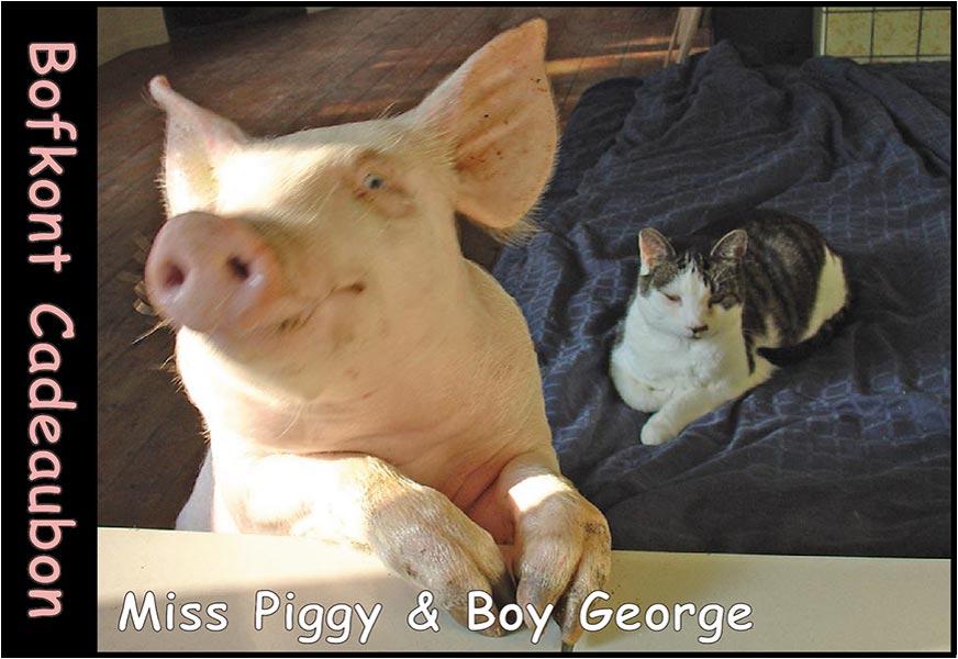 Miss Piggy & Boy George